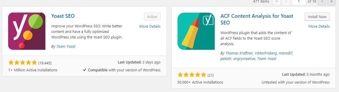 plugin rating