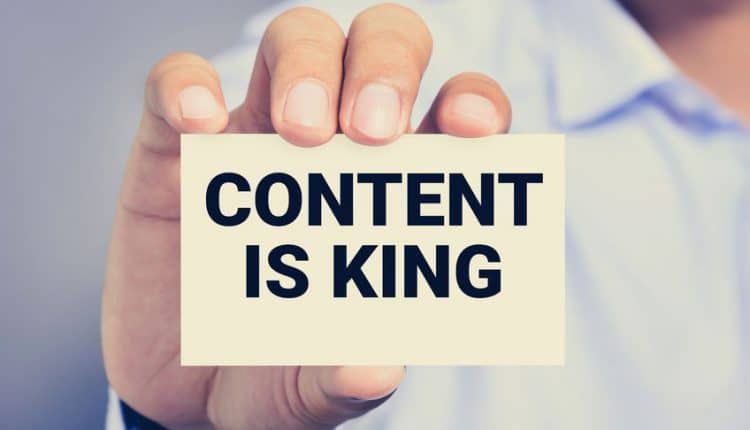 content-is-King If content is King, then connectivity is Queen
